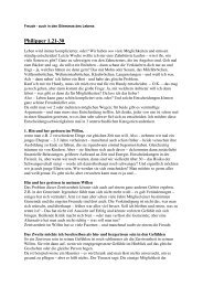 2005-10-16 Freude - auch in den Dilemmas des ... - FeG Wienhausen