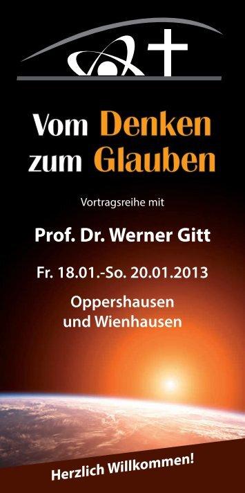 2013-01-18 Vom Denken zum Glauben ... - FeG Wienhausen
