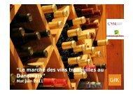 Le marché des vins tranquilles au Danemark - Vins d'Alsace