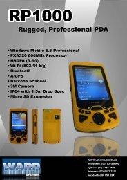 RP1000 Brochure Yellow 2011.pdf - 375kb - Warp Systems