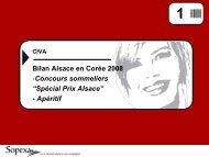 Bilan Alsace en Corée 2008 -Concours sommeliers ... - Vins d'Alsace