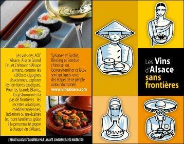 Carte accords Cuisines du Monde et Vins d'Alsace (PDF)