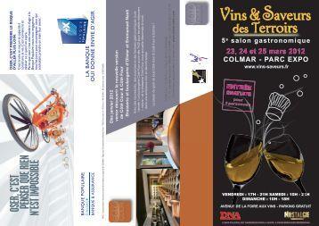 OSER, C'EST PENSER QUE RIEN N'EST IMPOSSIBLE - Vins d'Alsace