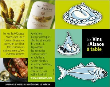 Carte accords mets-vins (PDF) - Vins d'Alsace