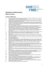 Références - Swiss Medical Forum