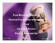 PROPOSÉ PAR emma wellings rp - Vins d'Alsace