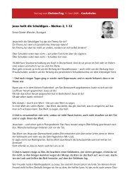 Ernst-Günter Wenzler - Lebendige Gemeinde