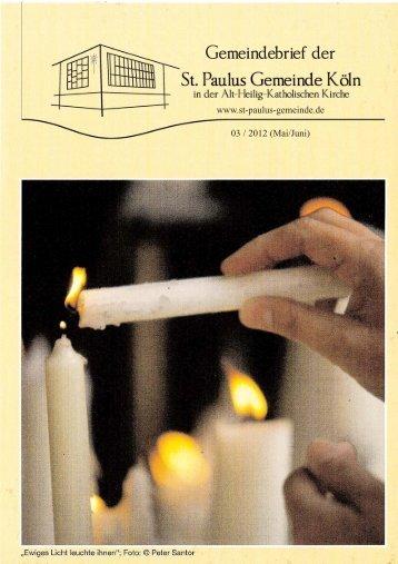 03 / 2012, Mai/Juni - St-Paulus-Gemeinde