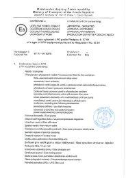 Ministerstvo dopravy České republiky - LPGTECH