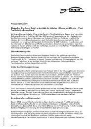 Südzucker Bioethanol GmbH unterstützt die Initiative - Ethanol statt ...