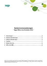 Systemvoraussetzungen - Luma GmbH, Marienfeld