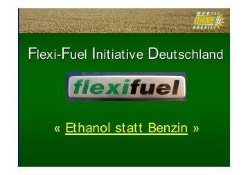 2 - Ethanol statt Benzin