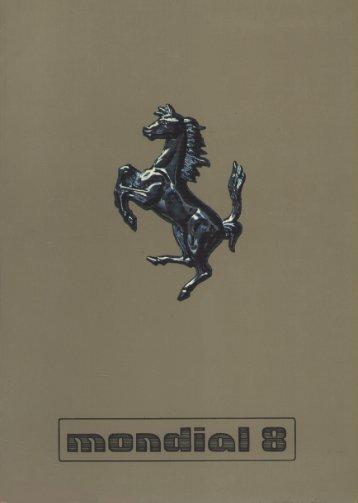 Page 1 Page 2 Ferrari uso e manutenzione notice d'entretien owner ...