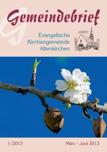 konfirmation - Evangelische Kirchengemeinde Altenkirchen