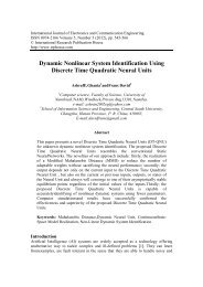 Dynamic Nonlinear System Identification Using Discrete Time ...