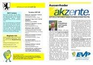 Ausserrhoder akzente Sept.11 - EVP Appenzell Ausserrhoden