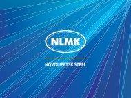 NOVOLIPETSK STEEL - NLMK Group