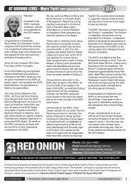 Marc Turri EDFL General Manager - Essendon District Football ...