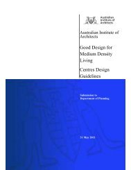 AIA Design Publications Submission - Australian Institute of Architects