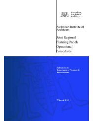 Joint Regional Planning Panels Operational Procedures - Australian ...