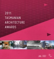 2011 - Australian Institute of Architects