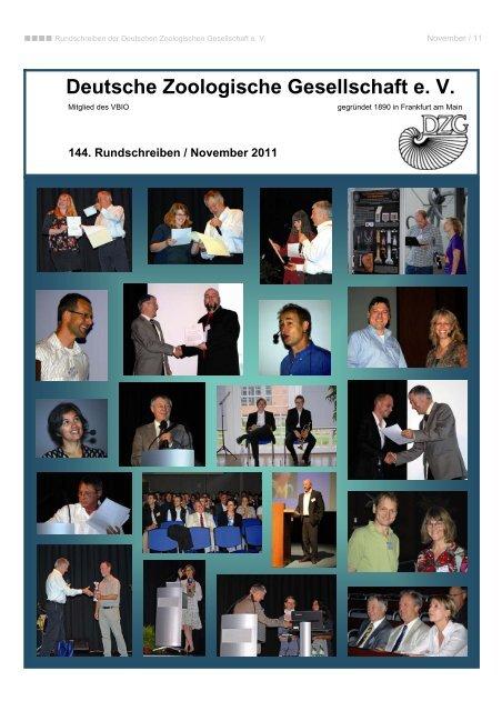 fachgruppensprecher (2011 / 2012) - Deutsche Zoologische ...