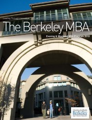 9464 EWMBA Bro.c2.3.indd - Berkeley MBA - University of California ...