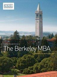 Leading Through Innovation - Berkeley MBA - University of ...