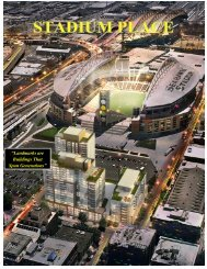 Stadium Place Key Facts - SSTI