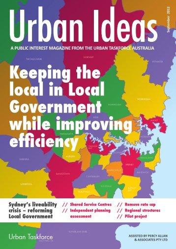 reforming Local Government - Urban Taskforce