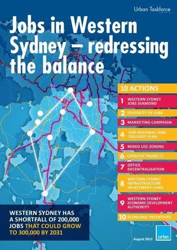 10 ACTIONS - Urban Taskforce