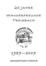 Band 1 - Wanderfreunde Treisbach