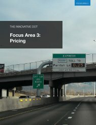 Focus Area 3: Pricing - SSTI