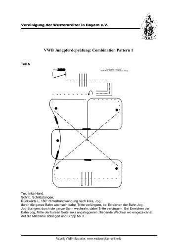 Jungpferdeprüfung: Combination - Vereinigung der Westernreiter in ...