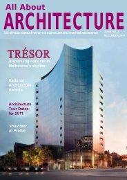 TRÉSOR - Australian Architecture Association