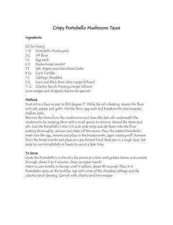 Crispy Fish Tacos - YNN