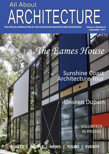 The Eames House - Australian Architecture Association