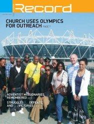 CHURCH USES OLYMPICS FOR OUTREACH ... - RECORD.net.au
