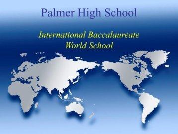 Information Night 2012-13 - Palmer High School