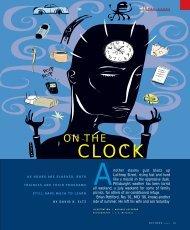 On The Clock - Pitt Med