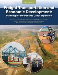 Freight Transportation and Economic Development: - NADO.org