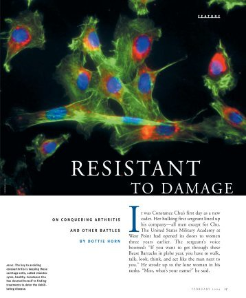 Resistant to Damage - Pitt Med - University of Pittsburgh