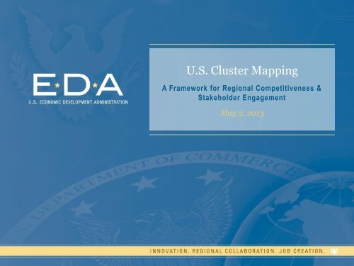 U.S. Cluster Mapping - NADO.org