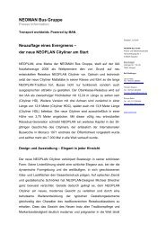 NEOMAN Bus Gruppe - Andreas Lubitz: PR