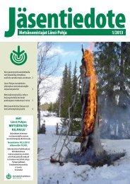 LP MHY lehti 1 2013 VED2.pdf - Metsänhoitoyhdistykset