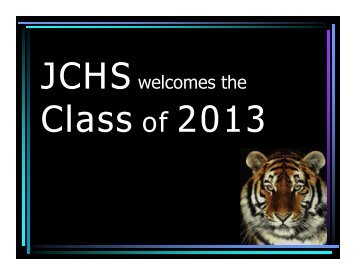 JCHSwelcomes the - Junction City School District