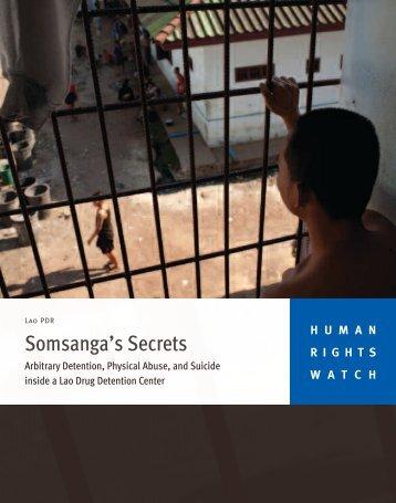 Somsanga's Secrets - Human Rights Watch