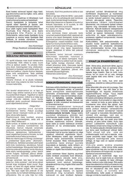 Aprill 2007 - Rõngu Vald