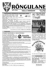 Mai 2009 - Rõngu Vald