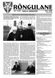 Mai 2010 - Rõngu Vald